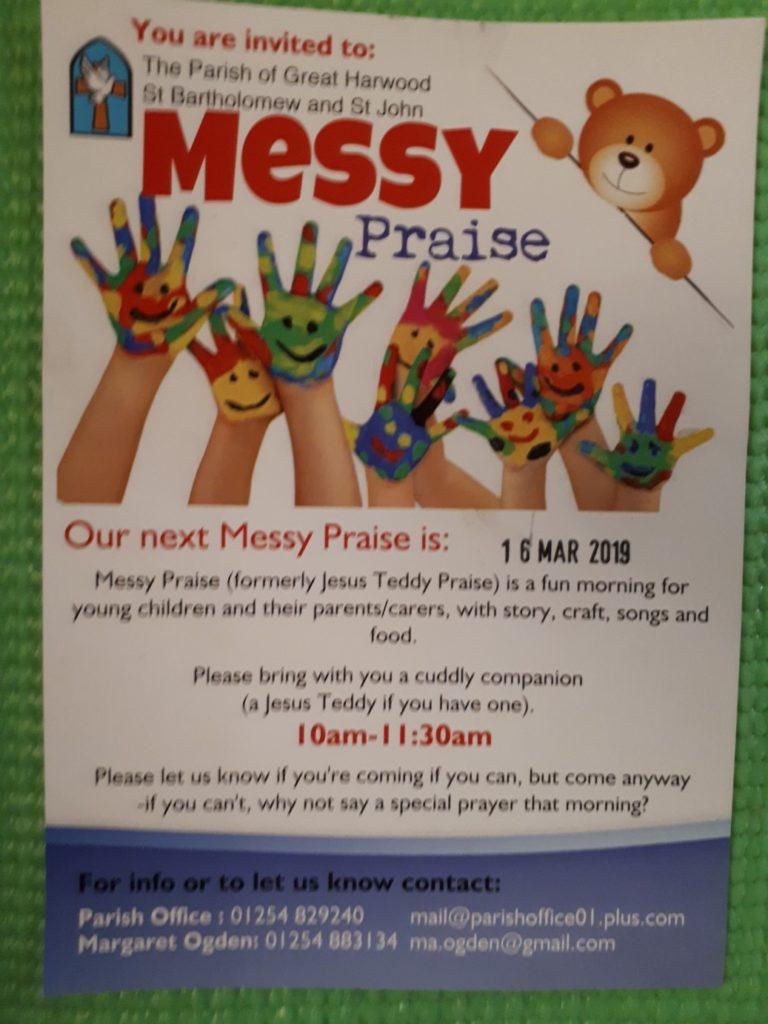 messy praise