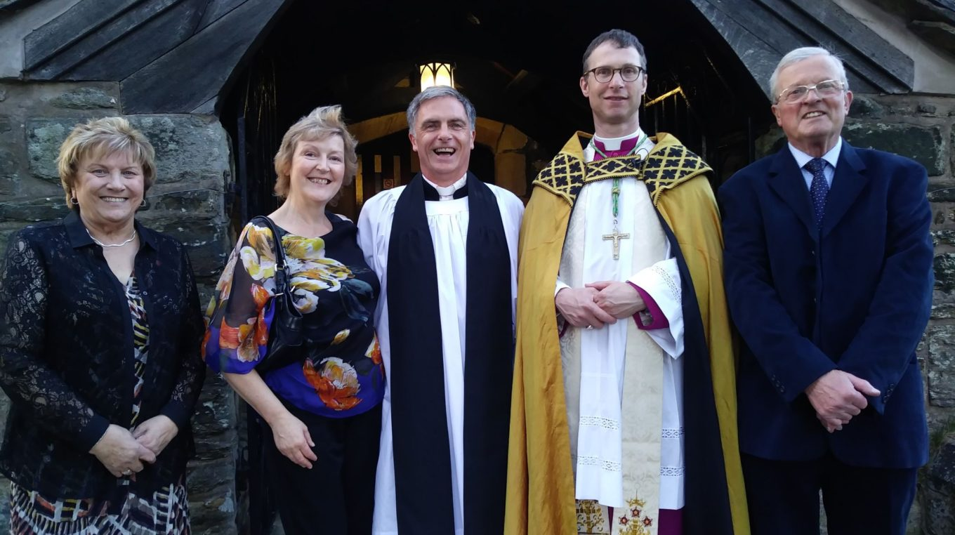 Rev Graham Birch's Induction