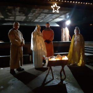 Roaming Nativity at St Bart's