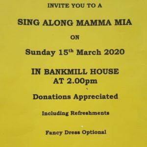 Mamma Mia 15th March