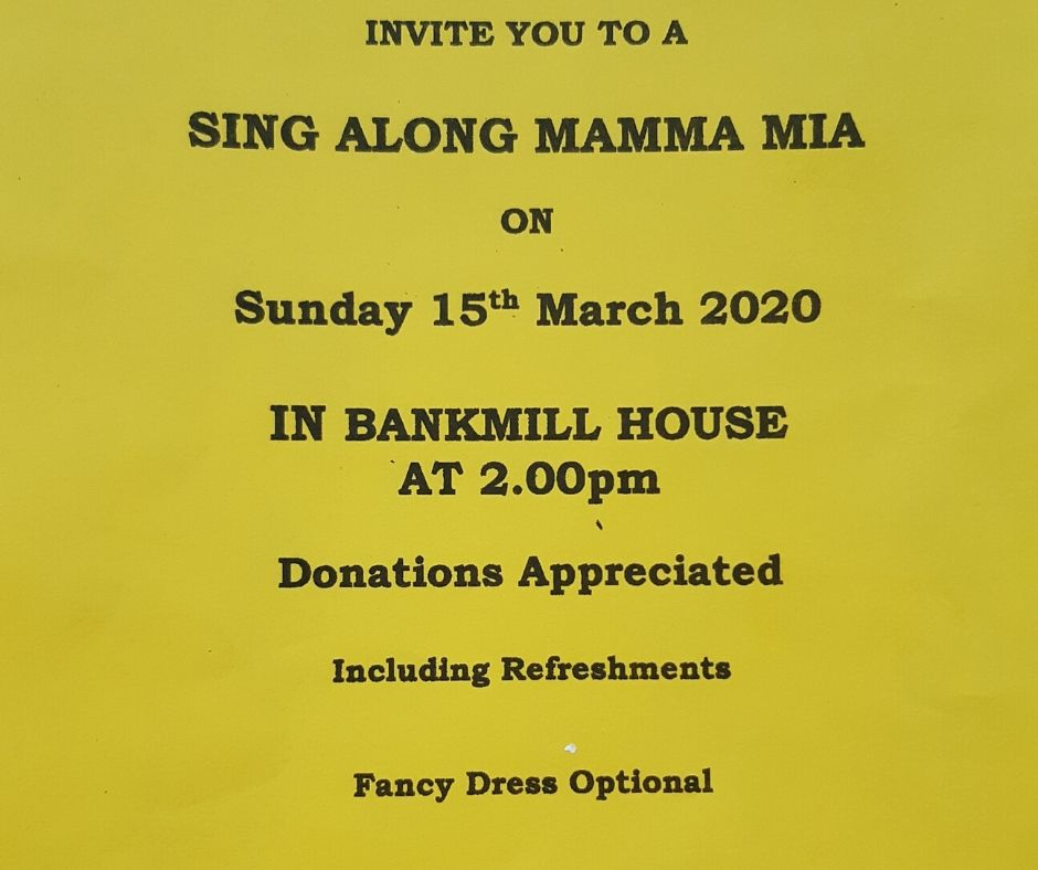 Mamma Mia 15th March