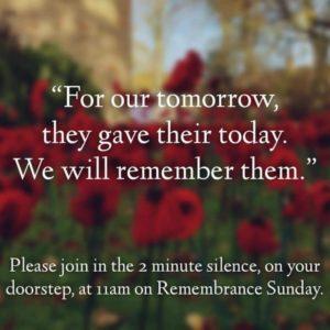 Rememberance Sunday